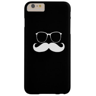 Funny Mustache Glasses Barely There iPhone 6 Plus Case