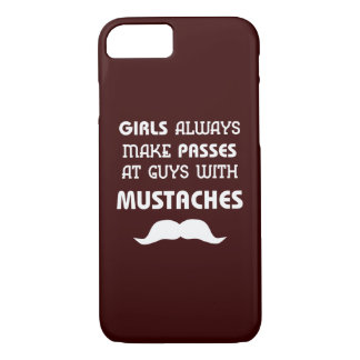 Funny Mustache iPhone 7 Case