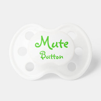 funny mute button dummy