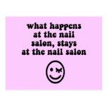 Funny nail salon