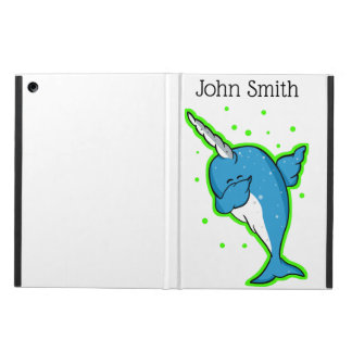 Funny Narwhal Dabbing iPad Air Cover
