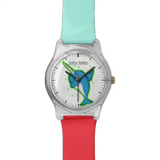 Funny Narwhal Dabbing Watch