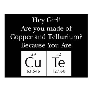 Funny Nerd Chat Up Line Post Card