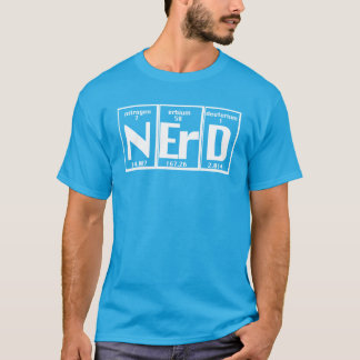 Funny Nerd Elements atomic chart T-Shirt