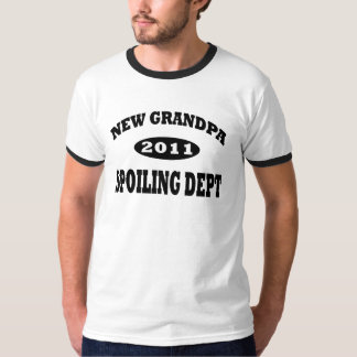 Funny New Grandpa Spoiling Department T-shirts
