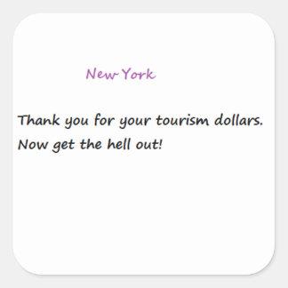 Funny New York Sticker
