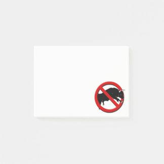 Funny No Bull  PI Post-it Notes