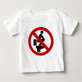 Funny NO Feet on the Seat ⚠ Thai Sign ⚠ Baby T-Shirt