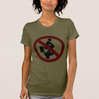 Funny NO Feet on the Seat ⚠ Thai Sign ⚠ T-shirt