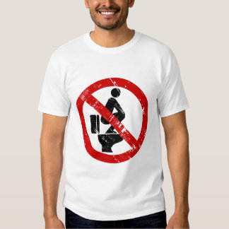 Funny NO Feet on the Seat ⚠ Thai Sign ⚠ T-shirts