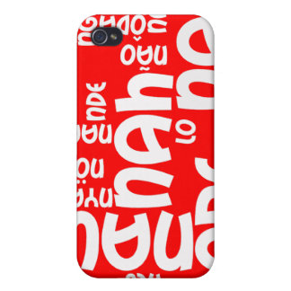 Funny No No No iPhone 4 Case
