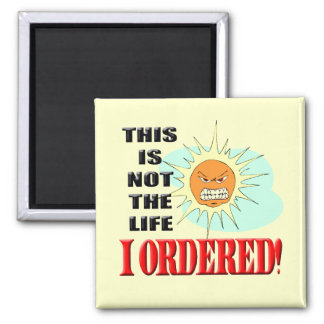 Funny Not My Life T-shirts Gifts Fridge Magnet