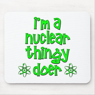 funny nuclear mouse pad