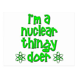funny nuclear postcard