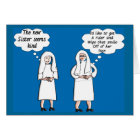 "Funny Nun Cards ""Good & Bad Thoughts"""