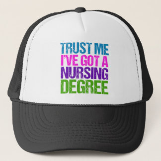 Funny Nurse Graduation Trucker Hat