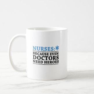 Funny Nurse Hero RN Nurse  Nursing Coffee Mug