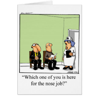 Funny  Nurses Day Greeting Card