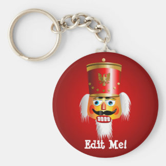 Funny Nutcracker Toy Soldier Key Ring