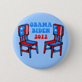funny Obama Biden 6 Cm Round Badge