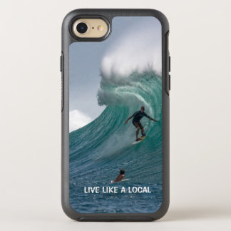 Funny Ocean Beach Surfing OtterBox Symmetry iPhone 8/7 Case