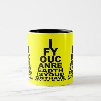 Funny offensive dyslexic coffee mugs