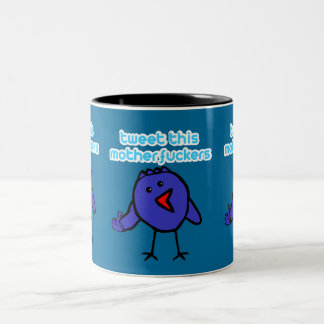 Funny offensive twitter mug
