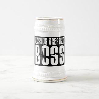 Funny Office Humor Bosses : World's Greatest Boss Beer Stein