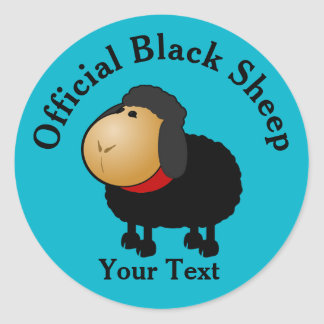 Funny Official Black Sheep Sticker