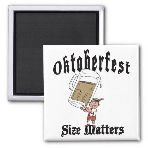 Funny Oktoberfest Drinking Refrigerator Magnet