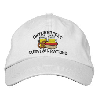 Funny Oktoberfest Embroidered Cap