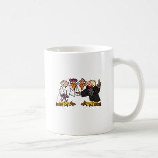 Funny Old Buzzard Wedding Cartoon Art Coffee Mug