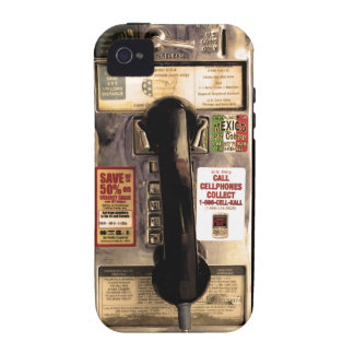 Funny Old Pay Phone iPhone 4/4S Cases