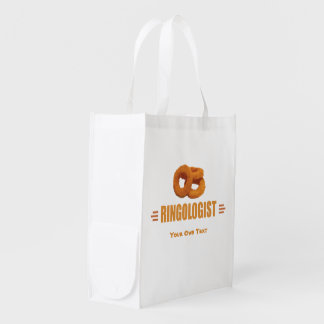 Funny Onion Rings Lover's Reusable Grocery Bag