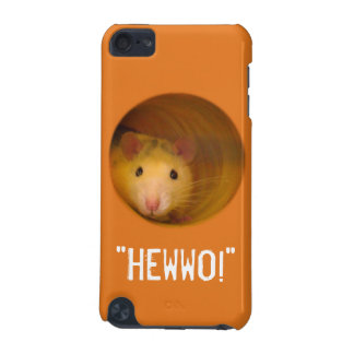 Funny Optical Illusion Rat in Hole iPod Touch 5G Cases
