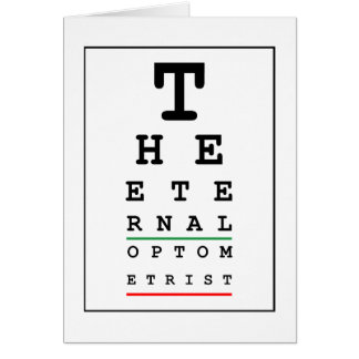 Funny Optician Card