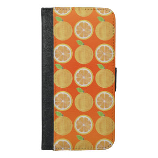 Funny orange Fruits Pattern