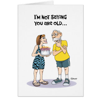 "Funny ""Over the Hill"" 67th Birthday Card"