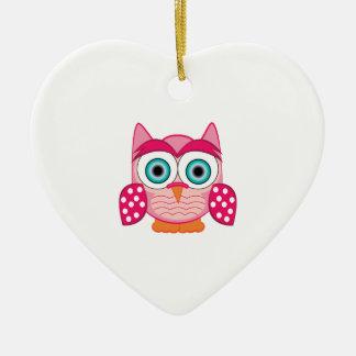 Funny Owl Christmas Ornaments