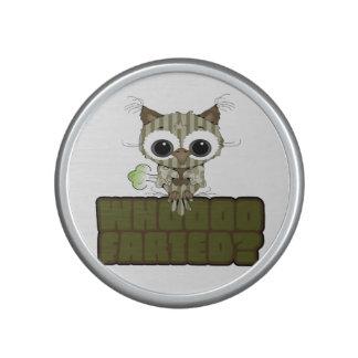 Funny Owl  Whooo Hoot Farted Bluetooth Speaker