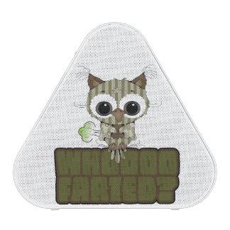 Funny Owl  Whooo Hoot Farted