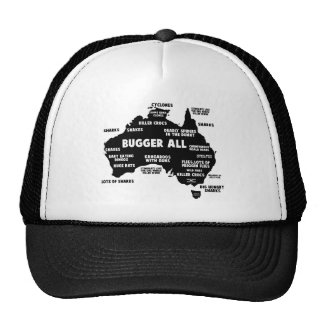 Funny Oz Trucker Hat