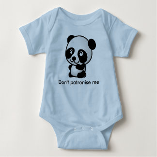 Funny Panda Jumpsuit For Baby Boy
