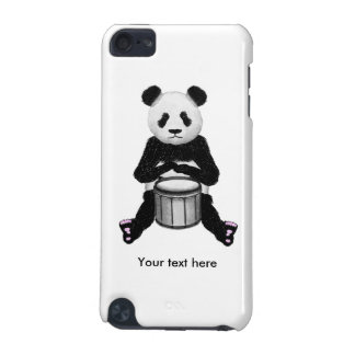 Funny Panda Playing Drums iPod Touch 5G Covers