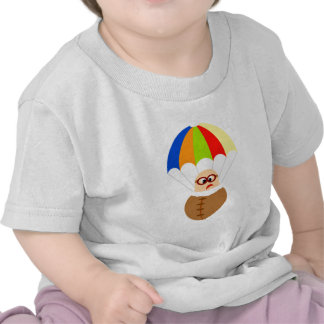 Funny Parachute Baby T-Shirt