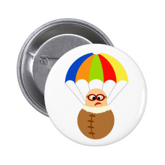 Funny Parachute Button