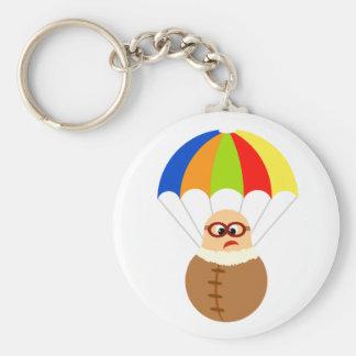 Funny Parachute Keychain