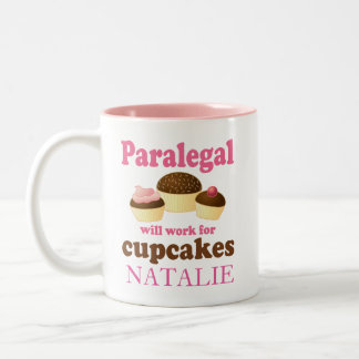 Funny Paralegal Office Gift Personalized Mug
