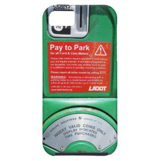 Funny Parking Meter Case For The iPhone 5
