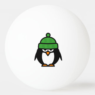Funny penguin ping pong balls for table tennis